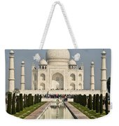 The Reflecting Pool In The Charbagh Or Weekender Tote Bag