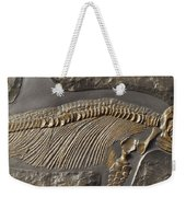 The Ribs And Spine Of Ichthyosaur Weekender Tote Bag