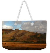 The Richardson Mountains At The Arctic Weekender Tote Bag