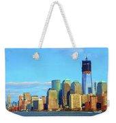 The Rising Freedom Tower Weekender Tote Bag