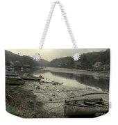 The River Fowey At Lerryn Weekender Tote Bag
