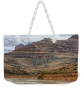 The Riverbend-grand Canyon Perspective Weekender Tote Bag