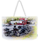 The Riverside Barr And Grill - Easton Pa Weekender Tote Bag