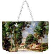 The Road To Essoyes Weekender Tote Bag by Pierre Auguste Renoir