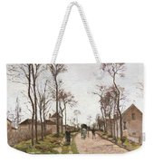 The Road To Saint Cyr At Louveciennes Weekender Tote Bag by Camille Pissarro