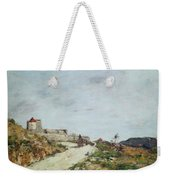 The Road To The Citadel At Villefranche Weekender Tote Bag