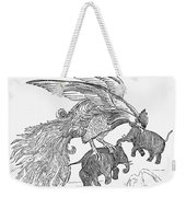 The Roc Weekender Tote Bag