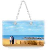 The Romantic Beach Weekender Tote Bag