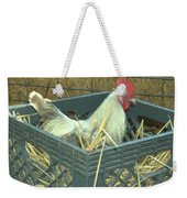 The Rooster That Laid A Golden Egg Weekender Tote Bag