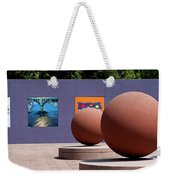 The Rounds Of Pershing Square Weekender Tote Bag