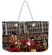 The Royal Wedding  Weekender Tote Bag by Karen Elzinga