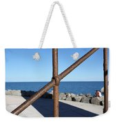 The Rust And The Sea Weekender Tote Bag