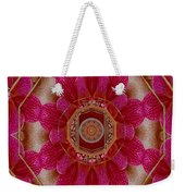 The Sacred Orchid Mandala Weekender Tote Bag