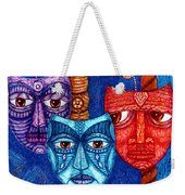 The Sadness The Mistrust And The Fatigue Weekender Tote Bag