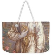 The Salutation  Weekender Tote Bag by Dante Charles Gabriel Rossetti