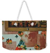 The Same Wall Weekender Tote Bag