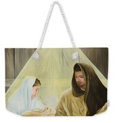 The Savior Is Born Weekender Tote Bag