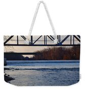 The Schuylkill River At Bridgeport Weekender Tote Bag