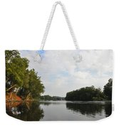The Schuylkill River At West Conshohocken Weekender Tote Bag