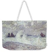 The Sea During Equinox Boulogne-sur-mer Weekender Tote Bag