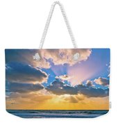 The Sea In The Sunset Weekender Tote Bag