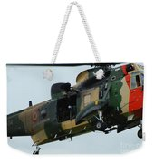 The Sea King Helicopter In Use Weekender Tote Bag by Luc De Jaeger