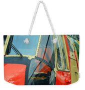 The Sea King Helicopter Used Weekender Tote Bag by Luc De Jaeger