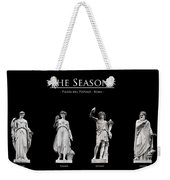 The Seasons Weekender Tote Bag