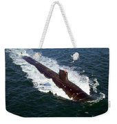 The Seawolf-class Nuclear-powered Weekender Tote Bag
