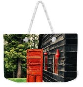 The Secret Inside Weekender Tote Bag by Syed Aqueel