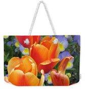 The Secret Life Of Tulips - 2 Weekender Tote Bag