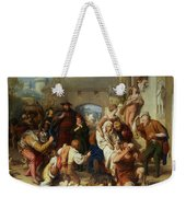 The Seven Ages Of Man Weekender Tote Bag