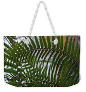 The Shade Of A Fern Weekender Tote Bag