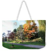 The Shadow Weekender Tote Bag