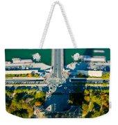The Shadow Of The Eiffel Tower Weekender Tote Bag