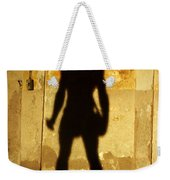 The Shadow Of The Statue Weekender Tote Bag