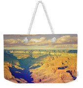 The Shadows In The Canyon Weekender Tote Bag