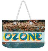 The Sign Of The Ozone Weekender Tote Bag