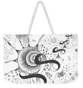 The Silent Dance Of The Particles Weekender Tote Bag