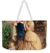 The Sinews Of Old England Weekender Tote Bag by George Elgar Hicks
