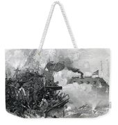 The Sinking Of The Cumberland, 1862 Weekender Tote Bag