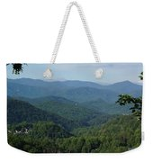 The Smoky Mountains Weekender Tote Bag