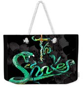 The Snakes Live In Europe Weekender Tote Bag