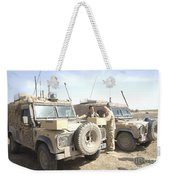 The Snatch Land Rover Used Weekender Tote Bag