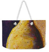 The Solitary Pear Weekender Tote Bag