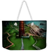 The Sound Of Silence Weekender Tote Bag by Alessandro Della Pietra