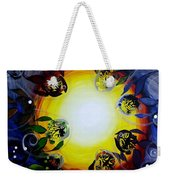 The Source Of All Color Weekender Tote Bag