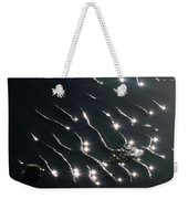 The Sparkling Ripples Weekender Tote Bag