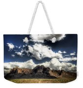 The Splendor Of The Superstitions Weekender Tote Bag