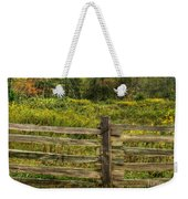 The Split Rail Meadow Weekender Tote Bag by Benanne Stiens